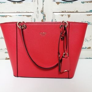 Guess red Kamryn Tote
